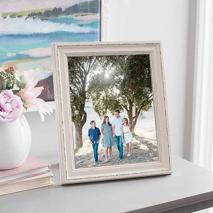 Faux Wood Frame and Photo Printing